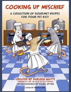 The Art of The Illustrated Rat: Rattie Cookbook Cover
