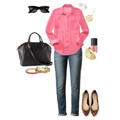 Comfy Casual - Preppy Style