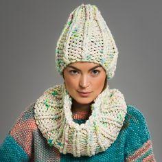 Pattern Brigitte Beanie & Snood - Beautiful LOLA  Color Candy