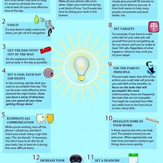 💡12 Ideas to Increase Productivity📈Image Credits: [Success Sculpting System] #ideas #productivity #infographic #goodmorning #letsdoit#marketing #goodtoknow #advertising #facts#mornings#coffee #wakeup