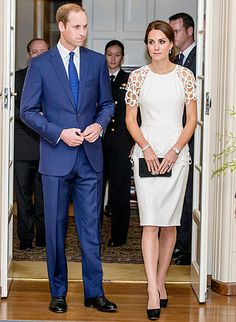 Kate Middleton, Prince William Visit Parliament House, Governor's Fete - Us Weekly