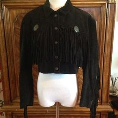 suede leather tassel fringe coin jacket suede leather tassel fringe coin jacket. not FP, but tagged for relevance. * I was scammed in a trade and paid USPS to intercept the package. that's why this is relisted and available. :) Free People Jackets & Coats