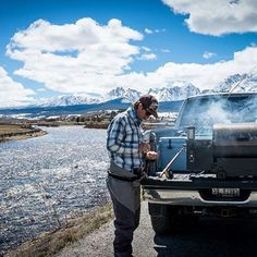 Opt outside this summer and grill off grid because everything tastes better outdoors. ⠀ Follow @TraegerOutdoors for more kickass adventures. ⠀ ------------------------------------------⠀⠀⠀ #Traeger #TraegerGrills #OptOutside #GrillOffGrid