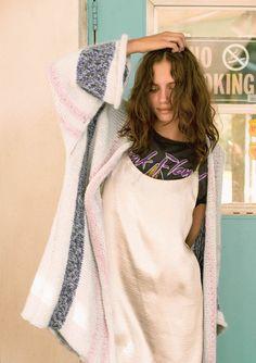 Kimono , knit, strikk sandnesgarn