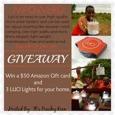 Luci Lights and $50 Amazon Gift Card Giveaway (ends 1/12) - Online Movie Coupons  http://onlinemoviecoupons.com/luci-lights-50-amazon-gift-card-giveaway-ends-112/