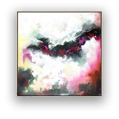 Large Abstract Art on Canvas, Square Large Abstract Wall Art, Large Art, Canvas Wall Art, Large Canvas, Texture Painting On Canvas, Large Painting, Canvas Paintings, Abstract Paintings, Hallway Art