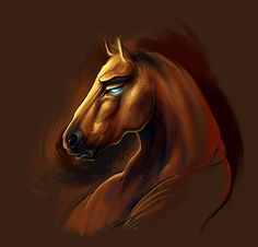 Horse Character Bust