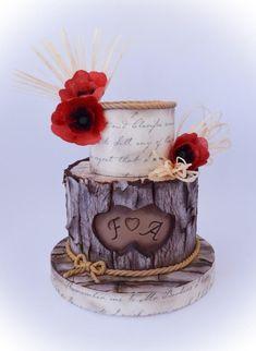 Romantic bark cake by Angela Cassano