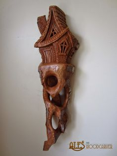 cottonwood bark carved ornaments   Posted by Ales the Wood Carver at 06:46
