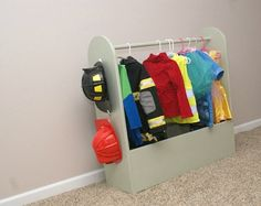 Sibling Dress Up Storage gender neutral for play house