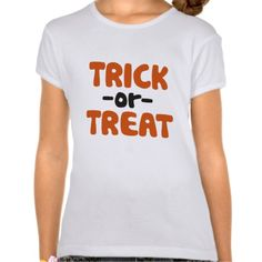 Trick or Treat Shirts