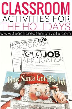 The best christmas pageant ever vocabulary activities pageants have your students apply to work for santa these cute activities will keep your class fandeluxe Gallery