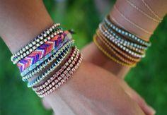 Easy Wrap Bracelet http://www.handimania.com/diy/easy-wrap-bracelet.html