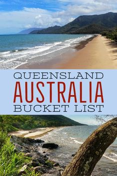 Places to visit in beautiful Queensland Australia. A bucket list of Queensland destinations for your holiday, staycation or short break. With internat tourism being more important than ever, where can you get away in Queensland? Aussie travel blog #Queensland #QueenslandAustralia Australia Travel Guide, Visit Australia, Queensland Australia, Western Australia, Scuba Diving Australia, Travel Destinations, Travel Tips, Travel Abroad, Travel Hacks