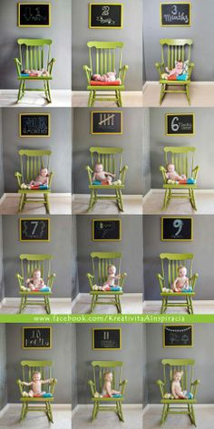 Baby Month by Month Photography