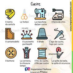 Italian Vocabulary, Vocabulary List, Italian Words, Italian Language, Learning Italian, Writing A Book, Education, Instagram, English