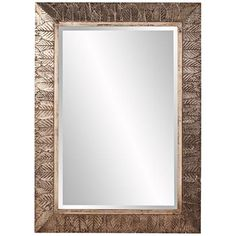 "Howard Elliott Elrond Champagne 33"" x 45"" Wall Mirror"