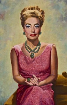A portrait of Joan Crawford
