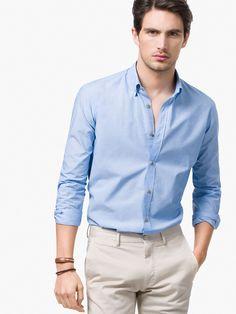 Stylish Men, Men Casual, Moda Formal, Formal Shirts, Mens Clothing Styles, Shirt Style, Men Dress, Ideias Fashion, Mens Fashion