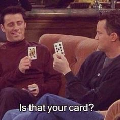 It is your card?  ...