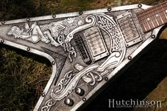 Gibson Flying V  Viking V Custom guitar by HutchinsonGuitars