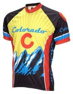 9e6211910 Buy Colorado Cycling Jersey World Jerseys Men s Short Sleeve With Socks New  Release from Reliable Colorado Cycling Jersey World Jerseys Men s Short  Sleeve ...