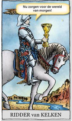 Ridder Kelken springt op de bres voor het milieu lees hier verder: http://tarotstapvoorstap.nl/tarotkaarten/mottos-tarot-ridders/