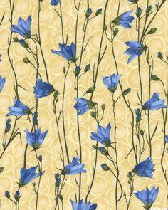 Bouquet Memories - Bluebell Summer - Chai Tan  'Bouquet Memories' by Hoffman Fabrics.
