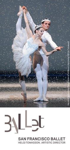 Maria Kochetkova & ?; San Francisco Ballet how can she be so little and look so tall??Seen it..:)