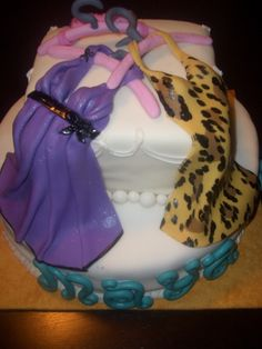 Lingere cake I made for Maya's Wedding Shower