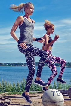 Make your #workout as fun as possible with your girlfriends this week #TogandPorter #keep in #shape #sweatitout