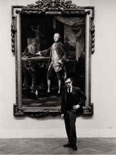 Photo by Ruth Orkin: Woody Allen at The Met, 1963