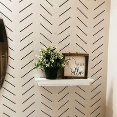Home Interior Hallway .Home Interior Hallway Tape Wall Art, Washi Tape Wall, Stencil Wall Art, Stencil Diy, Diy Wall Art, Damask Stencil, Bathroom Stencil, Paint Bathroom, Sharpie Wall