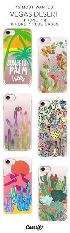 15 Most Wanted Vegas Desert Protective iPhone 7 Cases and iPhone 7 Plus Cases. More Las Vegas iPhone case here > https://www.casetify.com/collections/top_100_designs#/?vc=nfnBxmAPe8