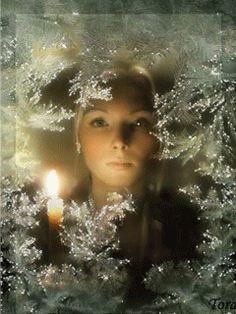 А за окном зима... - анимация на телефон №520613