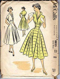Vintage McCalls Dress Pattern | eBay