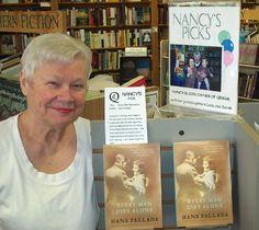 Nancy Olson. The woman who made Raleigh, NC a book town. Owner of Quail Ridge Books & Music.