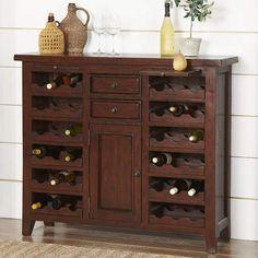 Archer Bar Server Wineimporteddust Clean Dry Wine Credenza Sideboard Buffet Lobby