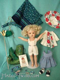 Hazel Twigg No 38 Vintage Julie The Mermaid Queen Composition Doll   eBay