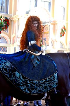 Merida I want to do this with my pony!