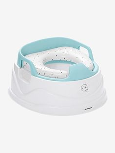 Adaptable, flexible and functional this potty will accompany your child through all stages of potty training! Aqua, Toilet Training Seat, Pots, Baby Box, Everything Baby, Home Appliances, Nursery, Couches, Design