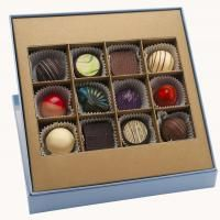 Le Montage collection is especially designed for those who enjoy an expanded variety in their chocolate experience.  Le Montage boxes are filled with chocolates randomly selected from the following collections: Ghyslain's Signature, Medallion Noir, Truffle Harmonie and Collection de Caramel.