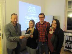 Abschlusspräsentation der Medien-Projektarbeit zum Blog www.cross-science.de