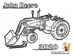 tractor coloring pages - Google Search