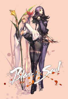 Blade & Soul Concept art by Hyung Tae Kim
