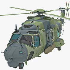 3D Military Helicopter Nhindustries Nh90 Model - 3D Model