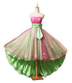 Ikerenwedding Women's Satin Flower Belt Empire Fairy Prom Dress Formal Ball Gown Pink US12 Ikerenwedding http://www.amazon.com/dp/B013AD7R22/ref=cm_sw_r_pi_dp_PdZVvb12KEMC6