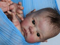 ISABELLE ~ babies reborn by, baby boy doll. High realism! Cute little Oliver!!!   eBay