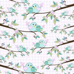 D043 - Mommy Bird - Fabricart Tecidos - Estampa Digital