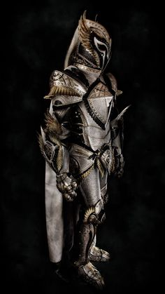 The gallant, the brave, the bold, and the skilled carry with them the character of the Knight! And with them the armor befitting their noble causes. All Knights begin somewhere! Character Inspiration, Character Design, Leather Armor, Men's Leather, Armadura Medieval, Knight Armor, Alien Art, Renaissance, Medieval Armor